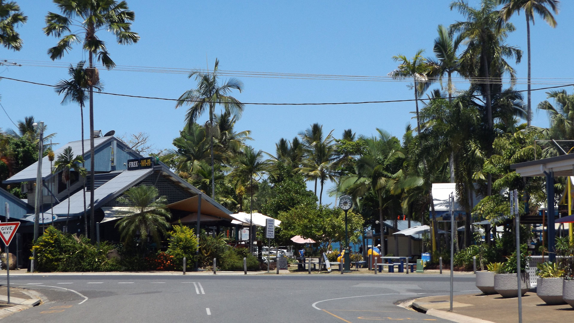 The township of Mission Beach, North Queensland, Australia